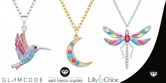 Lilly & Chloe, Glamcode & Saint Francis Crystals - Бляскаво съвършенство с нежен характер