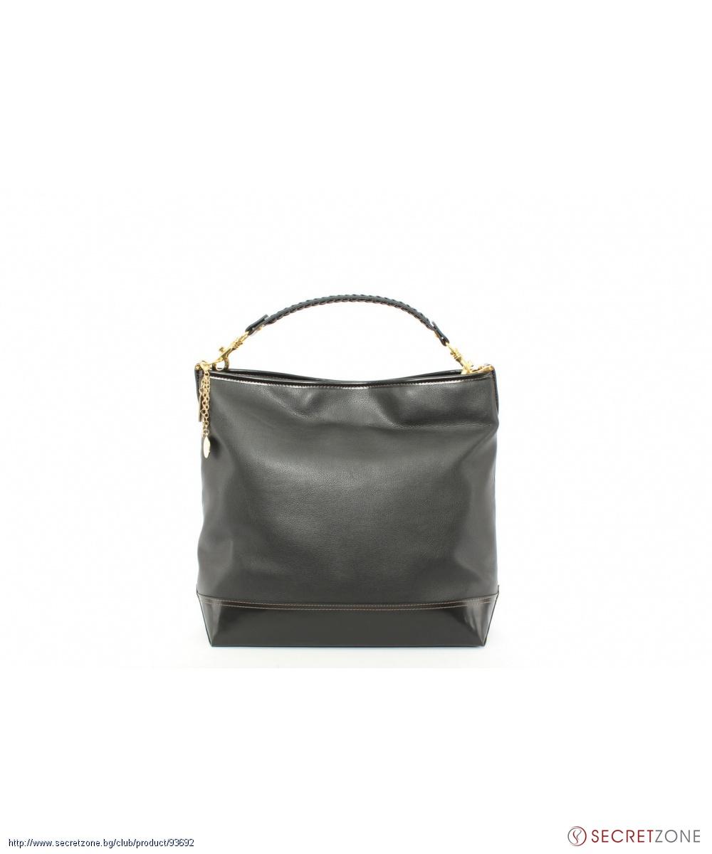 Черна дамска чанта Beverly Hills Polo Club