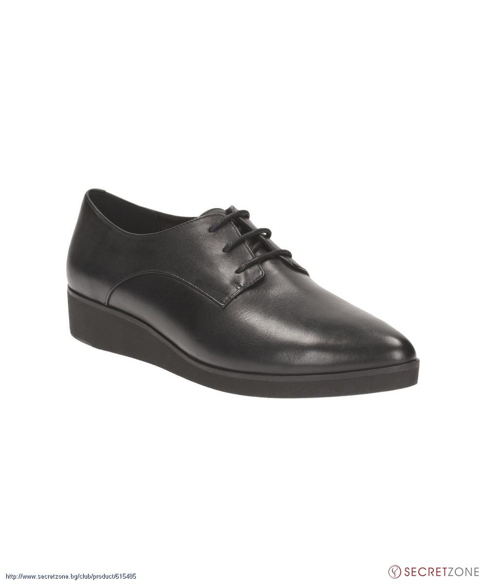7dfbdab9c3c Кожени обувки в черен цвят от Clarks - M