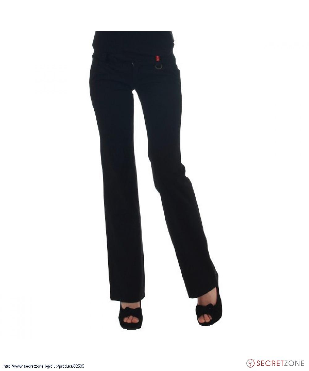 7d053413e3f Прав дамски панталон в черен цвят от PHARD | Secretzone.bg