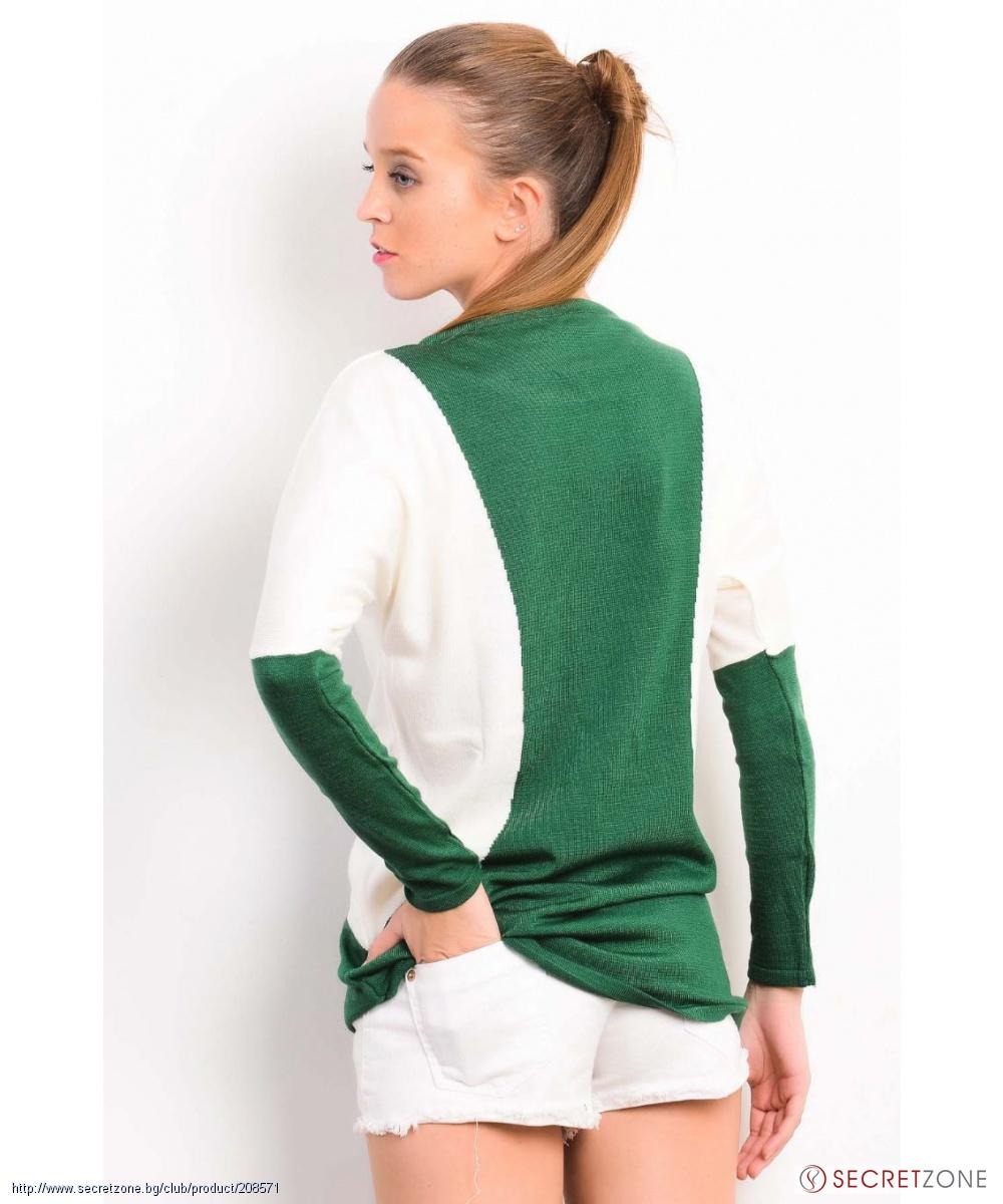 Салатовый Пуловер С Доставкой