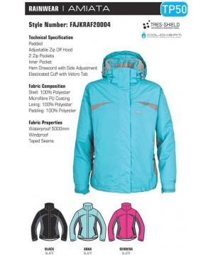 7563a9dd675 Бебешки ски костюм TP50 с обувки в принирана синя гама от Trespass ...