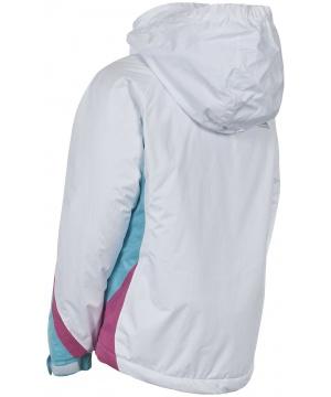 793cf187d02 ... Ски яке TP50 от Trespass за момчета в бял цвят с контрастки акценти