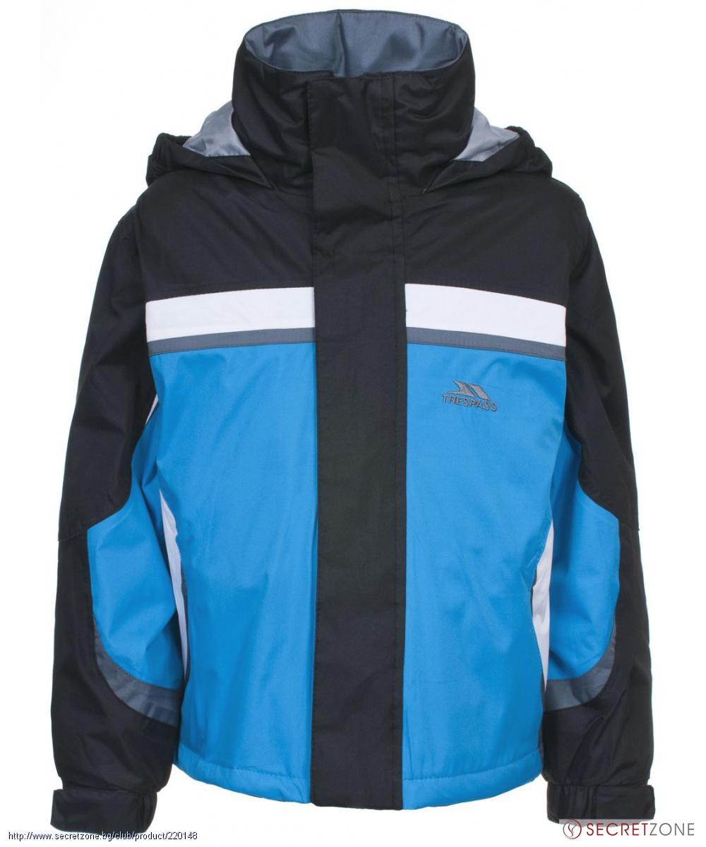 4fdecd14923 Водоустойчиво ски яке TP50 от Trespass за момчета в синьо, черно ...