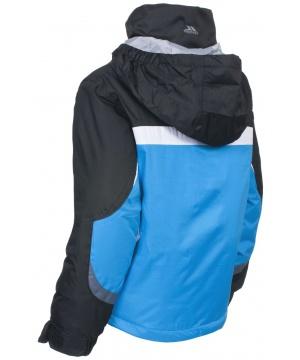 e7f047abed1 ... Водоустойчиво ски яке TP50 от Trespass за момчета в синьо, черно, сиво  и бяло