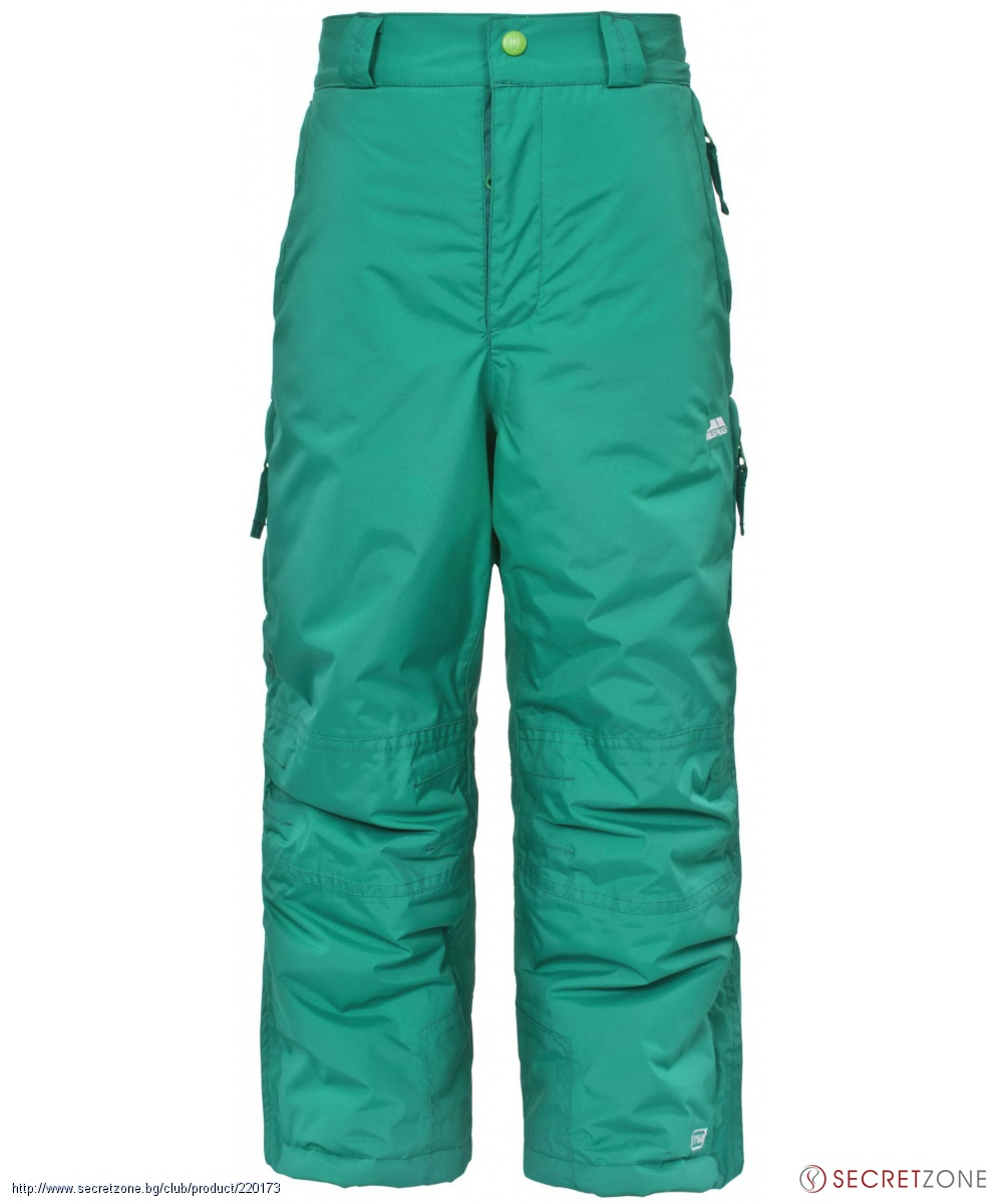 bcac69a5006 Детски ски панталон TP50 от Trespass в зелен цвят   Secretzone.bg