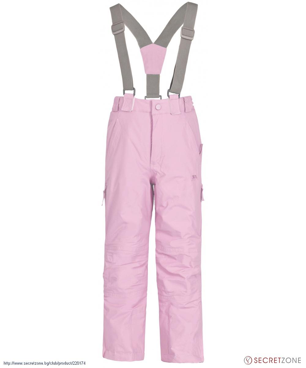 c052c1e2051 Детски ски панталон TP50 от Trespass в розов цвят   Secretzone.bg