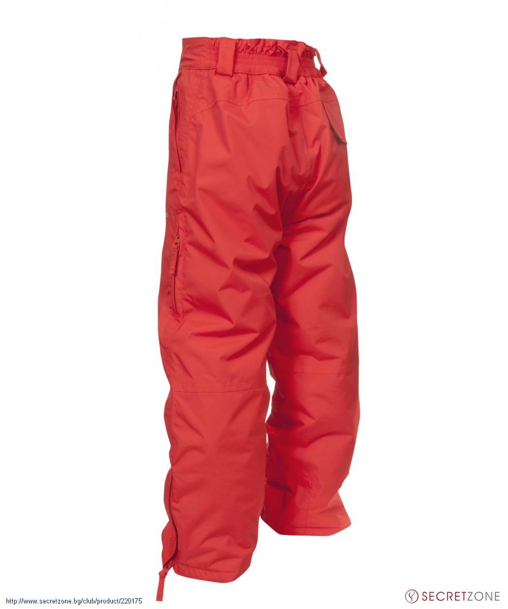 202a0385424 Детски ски панталон TP50 от Trespass в цвят мандарина   Secretzone.bg