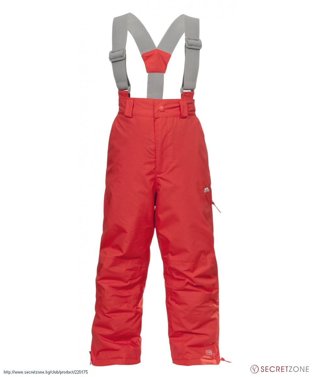 703564c029f Панталони; Детски ски панталон TP50 от Trespass в цвят мандарина. undefined