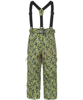 370ae23952b Детски ски панталон TP50 от Trespass със зелен принт   Secretzone.bg