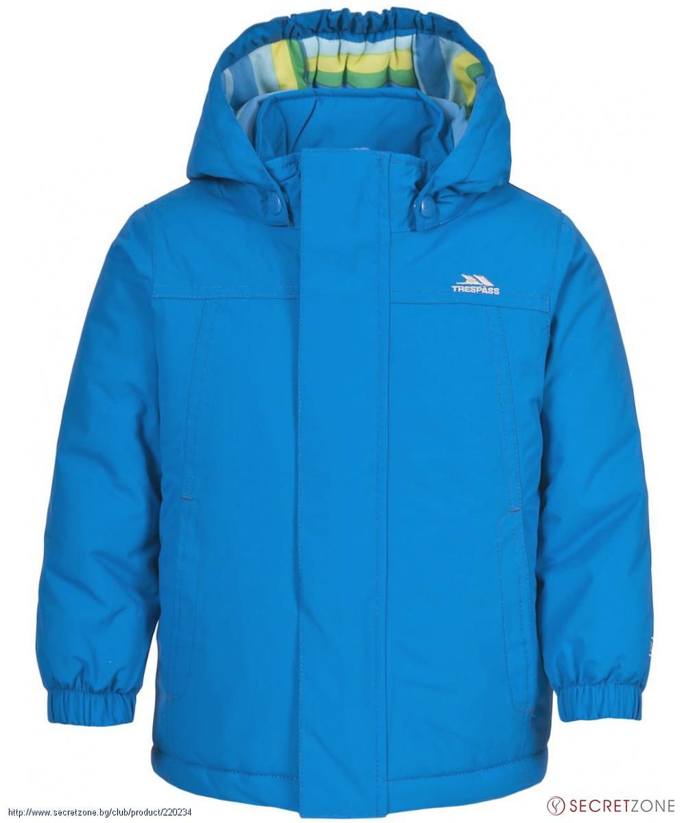 743f1c5db09 Якета; Бебешко ски яке TP50 в наситен син цвят от Trespass. undefined