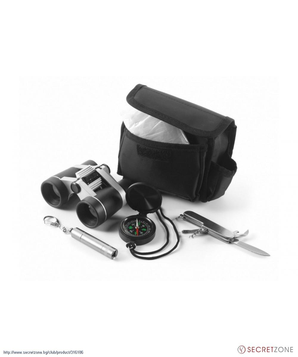 73b17c1125e Utilinox; Туристически комплект за оцеляване Utilinox от 5 части. undefined