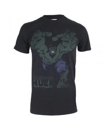 34bc3ae7e00 Черна мъжка тениска с ефектен комикс мотив от Marvel | Secretzone.bg