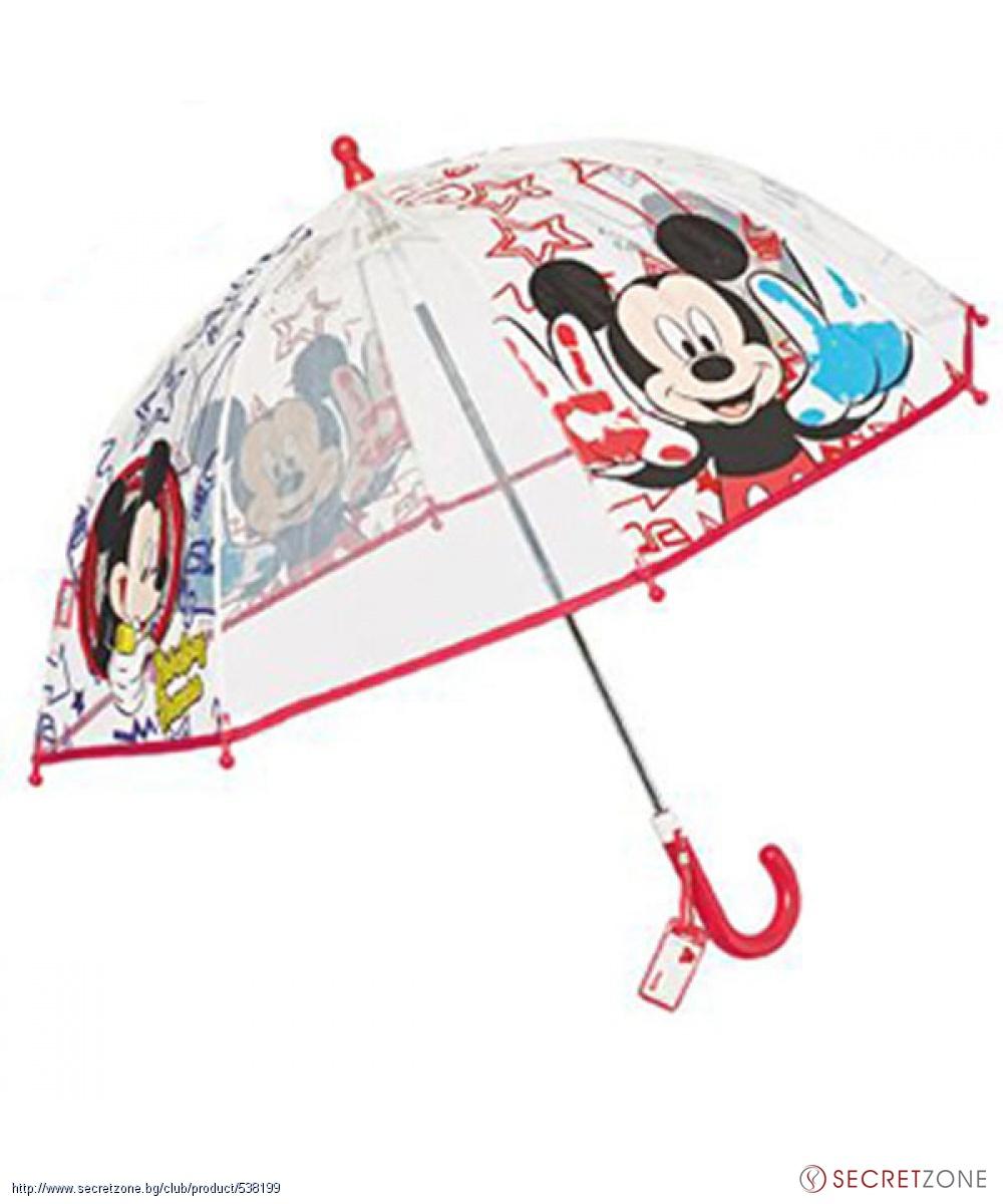e27110bf8c9 Чадъри; Детски чадър с принт