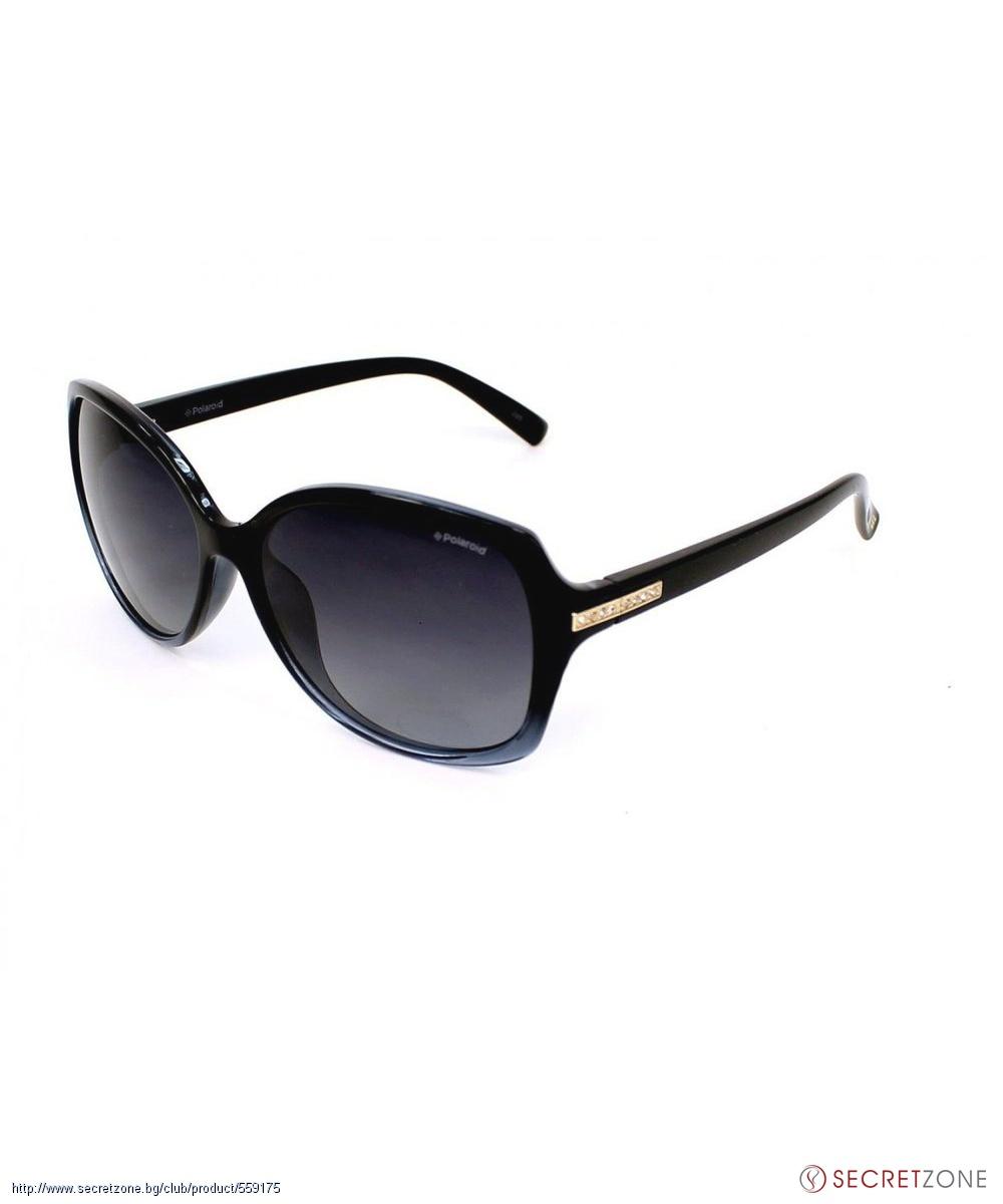 d65ff62d6b0 Жени; Слънчеви очила Polaroid в черен цвят и сиво с поляризация. undefined