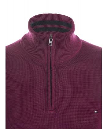Бордовый пуловер с доставкой