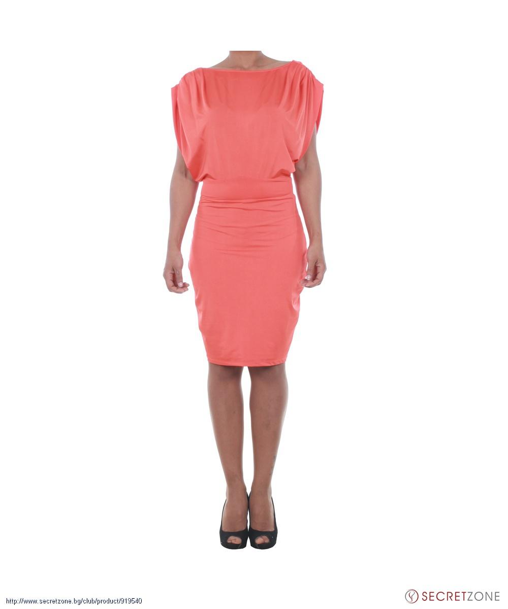 185c51c41fb Стилна рокля във виолетов нюанс от Guess by Marciano   Secretzone.bg