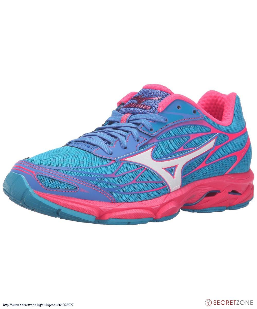 708eb26cf03 Дамски маратонки в синьо, бяло и розово от MIZUNO | Secretzone.bg