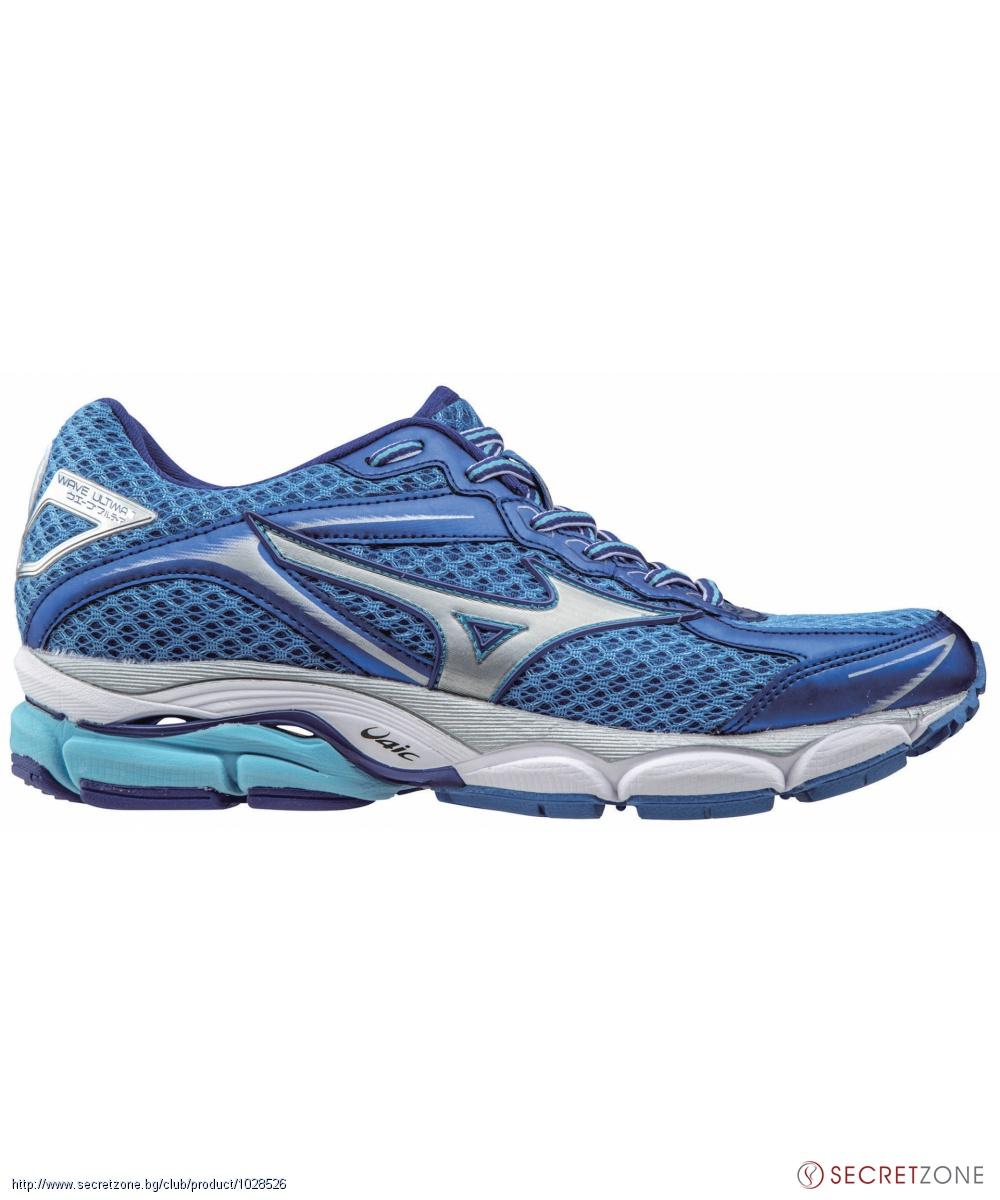 53589d2cfc9 Дамски маратонки в синя гама и сребристо от MIZUNO | Secretzone.bg