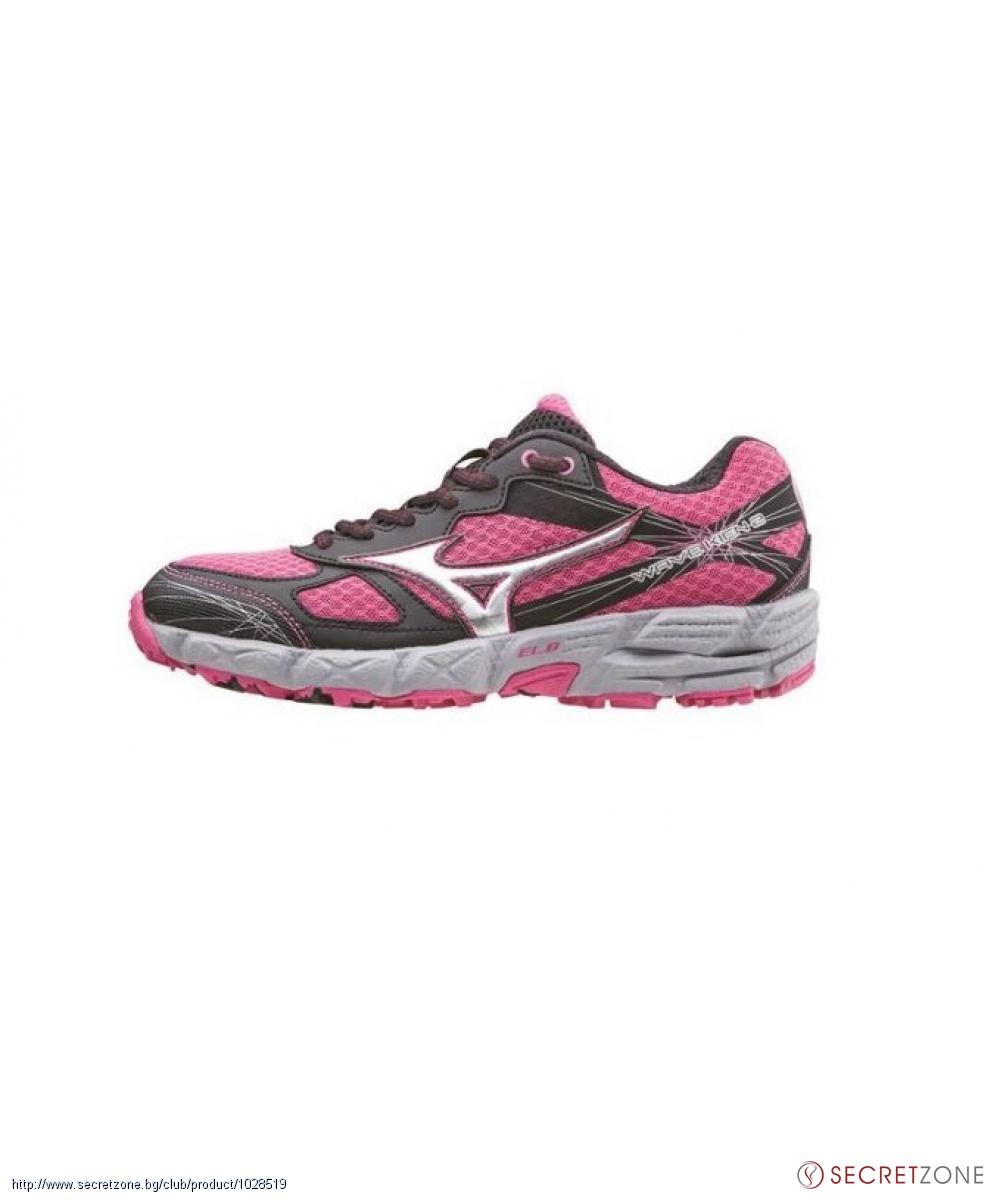 00a3e247372 Дамски маратонки MIZUNO в розово, черно и сребристо | Secretzone.bg