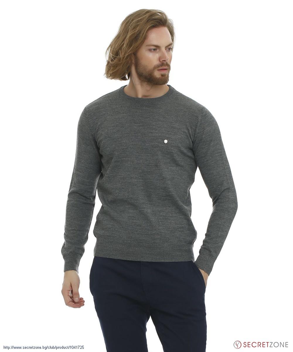 Пуловер меланж доставка