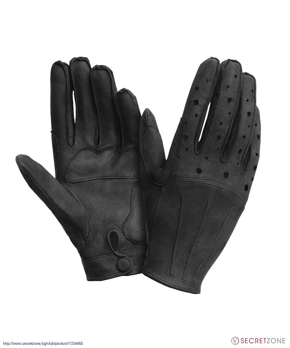 e0736b674c6 Дамски кожени ръкавици от Tucano Urbano в черен цвят | Secretzone.bg