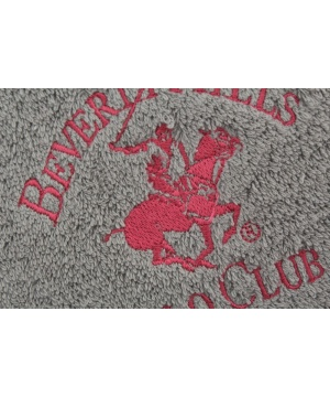 Хавлия Beverly Hills Polo Club в сив цвят