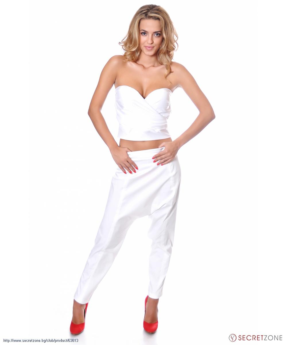 3d581584cfa Дамски потури в бял цвят от Caramella Fashion | Secretzone.bg